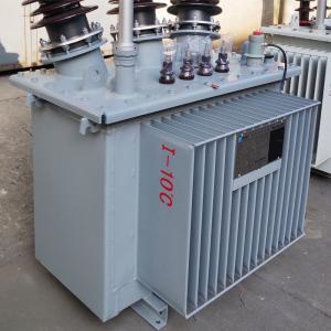 35kV Oil Type Power Transformer , Oil Filled Multiple Winding Transformer Manufactures