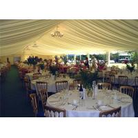 Customized Advertising Outdoor Wedding Tents with White PVC Wall Manufactures