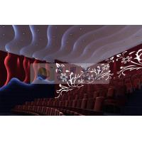 Immersive 4d cinema system Amusement Equipment With Yellow / Blue / Black 3D glasses Manufactures