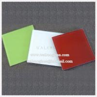 5mm 6mm Color Printed Tempered/Toughened Glass for Kitchen Manufactures
