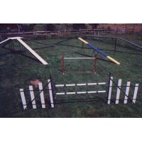 Different Sizes Heavy Duty PVC Tube Speed Hurdle Manufactures