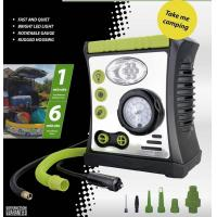 Car Air Pump with Lamp, Warning, Inflation function, DC 12V 100PSI Manufactures