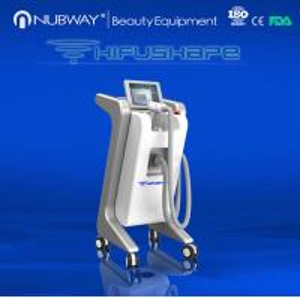 Salon Ultrasonic HIFU Shape Skin Tightening Beauty Equipment/ Wrinkle Remover Slimming Machine Manufactures