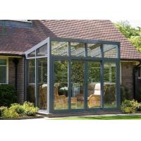Quality Beautiful Large Aluminium Greenhouse , Winter Garden Aluminium Glass Greenhouse for sale
