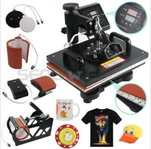 Sunmeta Dual-core Flat-bed T-shirt heat press machine, Iron-on heat press Manufactures