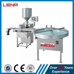 LIENM Factory Automatic Hair Cream Hair Conditioner Skin Cream Filling Machine Filler Manufactures