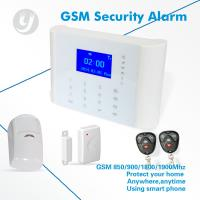 Quality Touch Screen Word Menu Gsm Alarm System With App Control / Unique ID code for sale