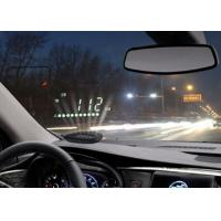 2 Inch Digital GPS Windshield Projector , Speed Alarm KM MPH Compass GPS Car Head Up Display Manufactures