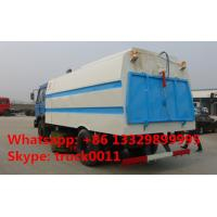 dongfeng 145 CUMMINS 170HP RHD/LHD vacuum sweeping truck for sale, best price dongfeng brand 8m3 sweeping suction truck Manufactures