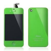 Custom LCD Assembly Apple IPhone 4S Repair Parts of Green Conversion Kit Replacing Manufactures