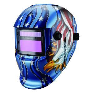 Custom Welding Mask For MIG TIG Arc Welding Best Welding Helmet Decals American Flag Eagle Welding Hood Manufactures