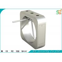 Mirror Finish Half Height Tripod Turnstile Gate , Turnstile Barrier Gate Manufactures