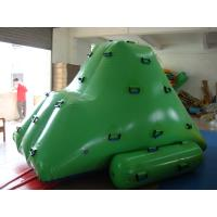 High - Strength Pvc Tarpaulin 0.9mm  Pvc Tarpaulin Iceberg Inflatable Water Games Manufactures