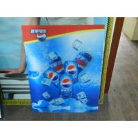 PS lenticular material large size 3d poster large format lenticular advertising poster 3d flip printing Manufactures
