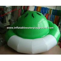 Ocean Mini Inflatable Saturn Rocker , Inflatable Spinner With Durable Handles Manufactures