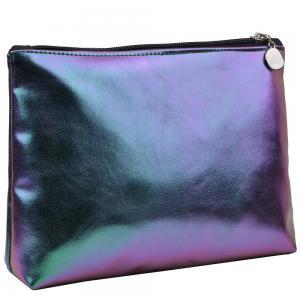 Portable Holographic Women PU Makeup Organizer Bag Manufactures