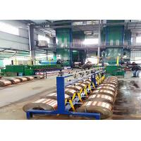 Double Furnace Super Enamelled Copper Wire Machine With Heated Air Circulation Manufactures
