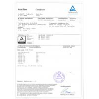 Cixi Vision Electronic Technology Co.,LTD Certifications