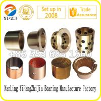 Professional factory manufacture graphite oilless bearing,plain bearing,copper bush Manufactures
