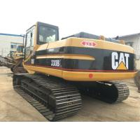 Japan Second Hand Crawler 30 Ton 330BL Second Hand Excavators 3276h 1.5m3 Bucket Manufactures