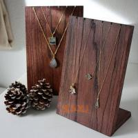 Wooden Retail Mdf Jewellery Necklace Display StandsHandmade Craft Manufactures
