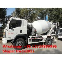 Quality best quality factory sale 6*4 Dongfeng 5- cubic meters concrete mixer truck, dongfeng 6m3 concrete mixer truck for sale