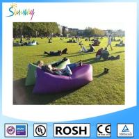 Fast Inflatable Sofa Air Filled Bags Sleeping inflatable Lounger Lamzac Manufactures