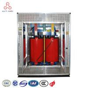 6.6 KV 200 KVA Inflaming Retarding Epoxy Resin HV Coil Dry Type Transformer Manufactures