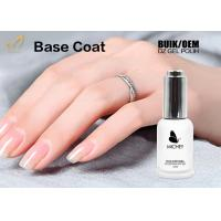 Odourless UV Base Coat Gel Polish Soak Off European Standard OEM / ODM Service Manufactures
