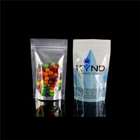 Fast sincere Aluminuim foil Food grade zipper bag stand up pouch bags Manufactures