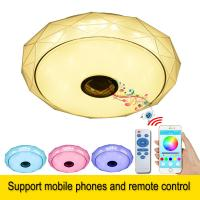 Buy cheap Modern Smart Remote Control and APP Music Ceiling Lights with Bluetooth speaker from wholesalers