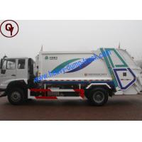 Quality 6x4 Power Wheel Garbage Collection Truck , 10 Tons Waste Management Vehicles for sale