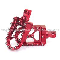 Adjustable Aluminum Anodizing Harley Davidson Parts Foot Pegs Rests Pedals Manufactures