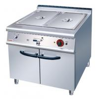Electric Bain Marie With Cabinet Western Kitchen Equipment with 1 year Warranty Manufactures