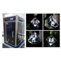 Glass Crystal 3D Laser Engraving Machine , Cost - Effective 3D Laser Engraving System Manufactures