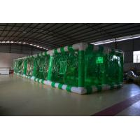 Green Large PVC Tarpaulin Inflatable Garden Party Tent with Fireproof and Durable Manufactures