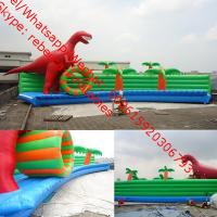 funny and exciting HOT large animated inflatable water park games for kids Manufactures