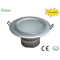 "4"" Warm white 560Lm / 7W / 180 degree dimmable LED downlights for supermarket, dining-room,2 years warranty Manufactures"