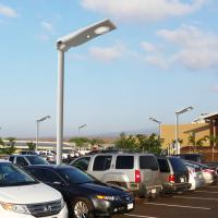 Outdoor All In One Stand-alone Commercial Integrated Intelligent Solar LED Street Lighting Robust Light Weight Manufactures