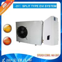 50hz 10.5 Kw Split Air To Water Source Heat Pump Coefficient Of Performance High Cop Evi Manufactures