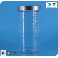 1000ml Transparent Plastic Jar Sliver Cap Apply To Cosmetic Package Manufactures