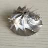 GT15-25 53.53X69mm 11+0 Blades billet turbocharger compressor whee Manufactures