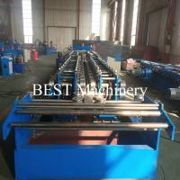 China 100-600 Automatic Change Size Cable Tray Forming Machine With 400 Tons Punching Machine on sale