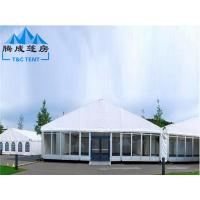 PVC Hard Pressed Extruded Aluminum Waterproof Canopy Tent High Resistance Manufactures