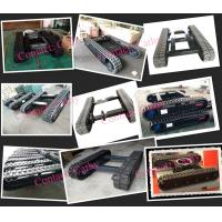 rubber track undercarriage manufacturer rubber tracked undercarriage crawler undercarriage crawler casss under carriage assembly track system track frame