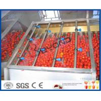 Tomato Processing Machinery Tomato Processing Line For Tomato Juice / Tomato Paste Production Manufactures
