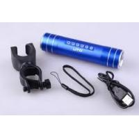 Portable battery powered emergency mobile phone charger USB 2.0 for traveling, fishing Manufactures