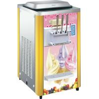 Stainless Steel Counter Top Ice Cream Machine BQ316 For Market , R404 Refrigerant Manufactures