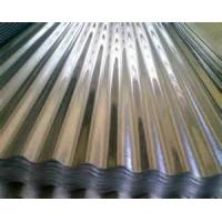 Factory buildings pressure Acrylic GI Hot Rolled Corrugated Steel Sheet 5mic Back coating  Manufactures