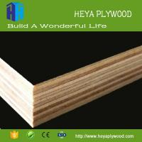 HEYA 3 - 20 mm black film faced plywood boards melamine finish first ply wood company vietnam Manufactures